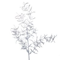Asparagus Brokatowy Srebro [Komplet 5 sztuk] 602933