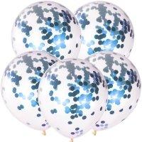 Balony z Konfetti Chaber [Komplet - 5 opakowań]
