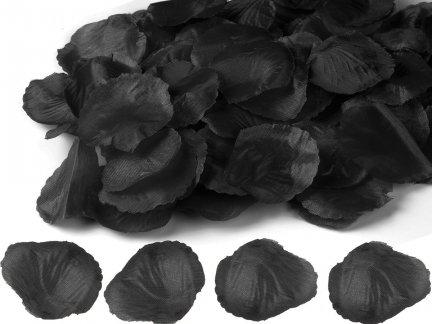 Płatki Róż Czarne 100 Płatków [ Zestaw - 50 Paczek]