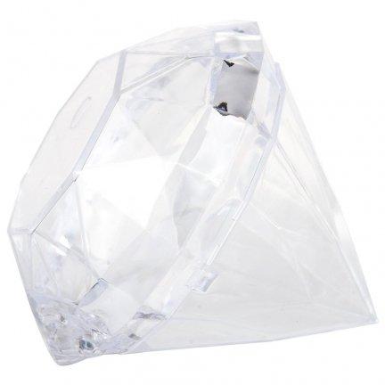 Pudełeczko Diament Plastikowy [ Komplet 5szt ]