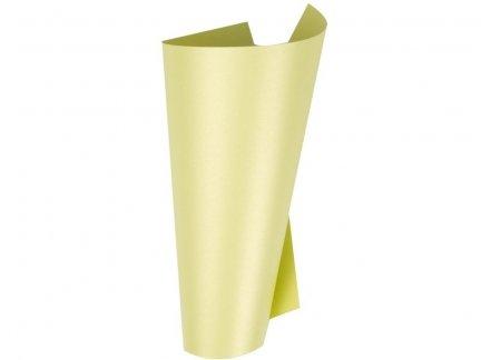 Papier Perłowy - Żółty [Komplet - 100 arkuszy]
