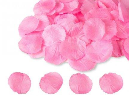 Płatki Róż Jasny Róż 100 Płatków [ Zestaw - 50 Paczek]