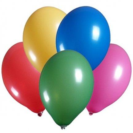Balony Mix 100szt  [Zestaw - 10 paczek]
