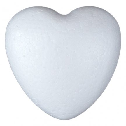 Serce Styropianowe Małe 5cm  [Komplet - 100 sztuk]