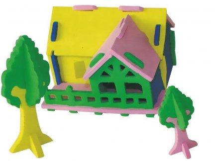 Zestaw Domek 3D Mały 9 [komplet 10 sztuk]