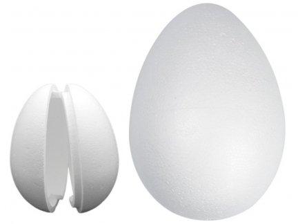 Jajka Styropianowe Puste 2 Połówki 30cm [Komplet 10szt]