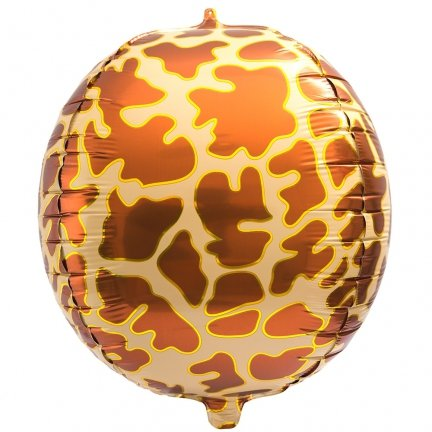 Balon Foliowy Kula Żyrafa [Komplet - 2 sztuki]