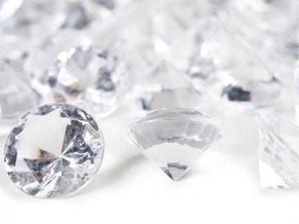 Diamenciki Kryształki 19mm  [ Komplet - 10 Paczek]