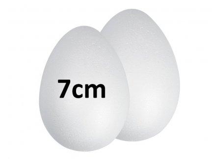 Jajka Styropianowe 7cm [Komplet 100szt]