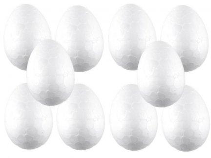 Jajko Styropianowe IMPORT 4cm [Komplet - Zestaw 500sztuk]