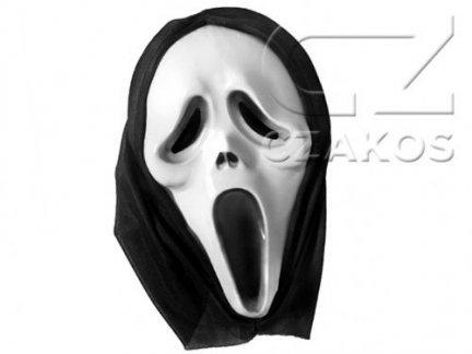 Maska Krzyk Z Kapturem [Komplet 10 sztuk]