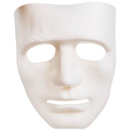 Biała Maska TRUP [Komplet 10szt]
