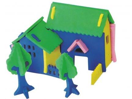 Zestaw Domek 3D Mały 8 [komplet 10 sztuk]