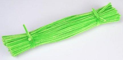 Druciki kreatywne zielony - 5 paczek po 100szt.