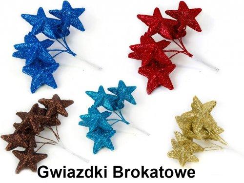 Gwiazdki Brokatowe