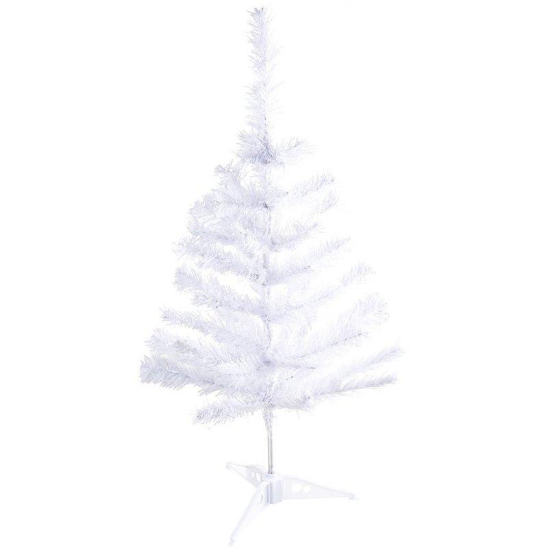 Sztuczna Choinka Biała 60cm [Zestaw - 5 sztuk]
