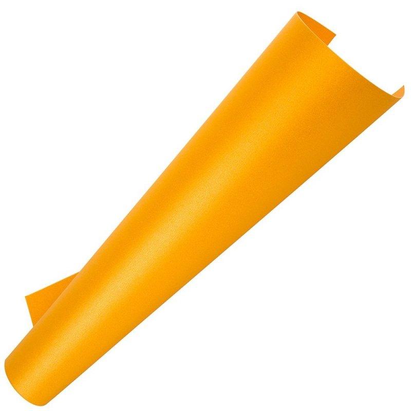 Papier Perłowy - Ciepło Żółty [Komplet - 100 arkuszy]