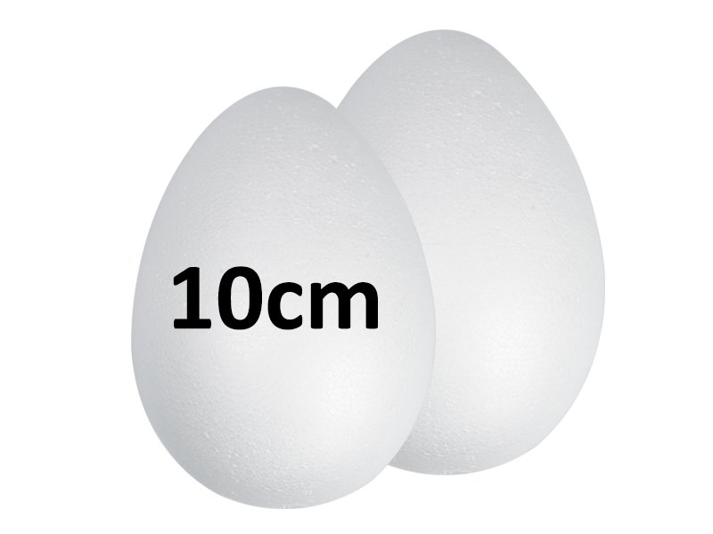 Jajka Styropianowe 10cm [Komplet-Zestaw 440szt]