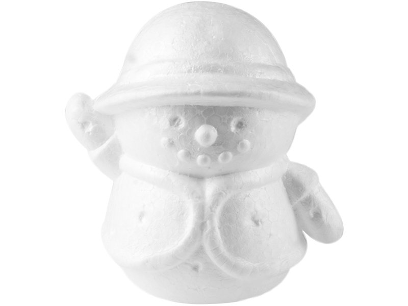 Bałwan Styropianowy 14 cm [Komplet - 20 sztuk]