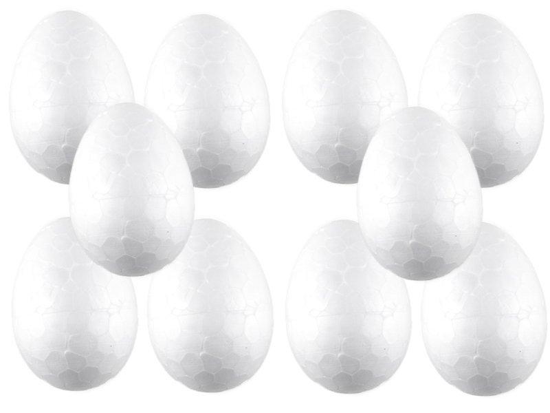 Jajko Styropianowe 4cm [Komplet - Zestaw 500sztuk]