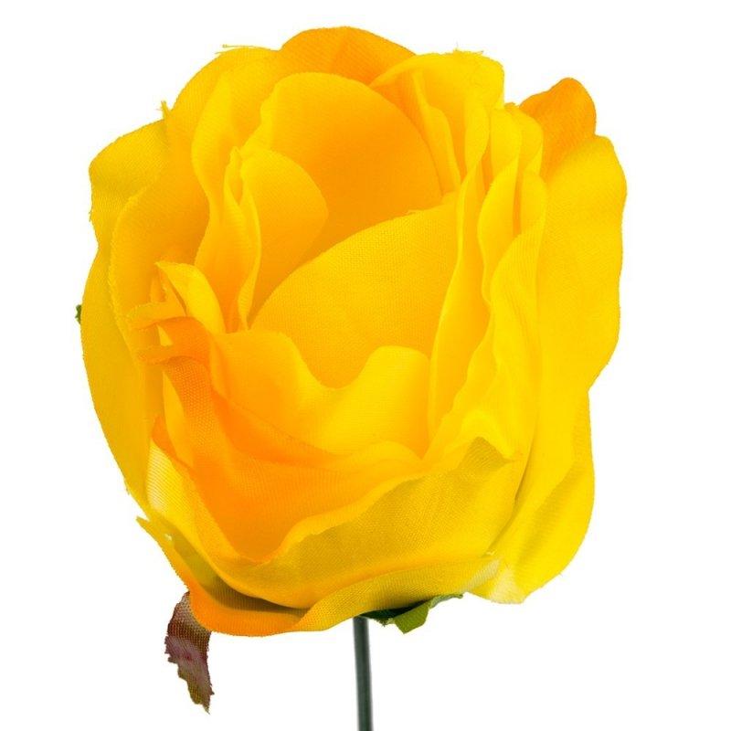 Główka Róża 7,5cm W146-03 [Komplet - 12sztuk]