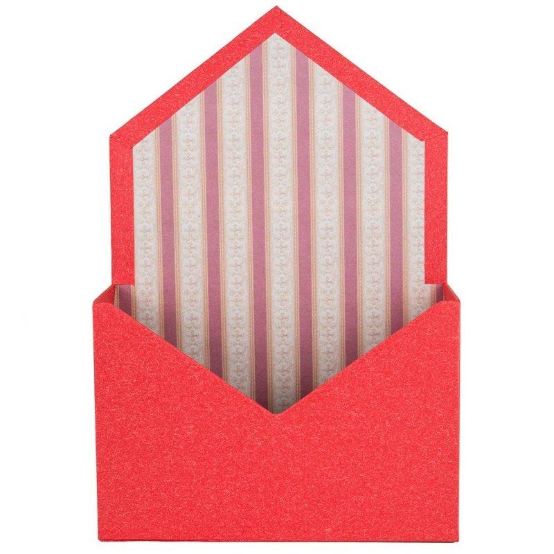 Flower Box Koperta Czerwona [Komplet 2sztuki]