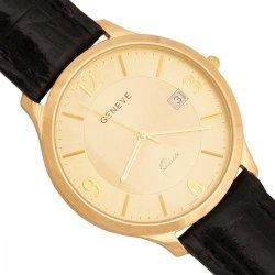 Zegarek złoty, męski, złoto 585 - Zv120-cz