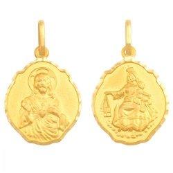 Medalik złoty 585 - 21842