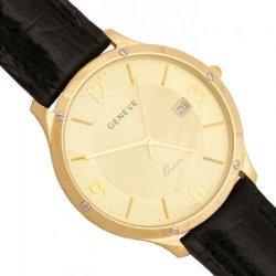 Zegarek złoty, męski, złoto 585 - Zv124-cz