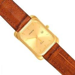 Zegarek złoty, męski, złoto 585 - Zv047-br