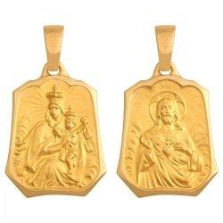 Medalik złoty 585 - 27452