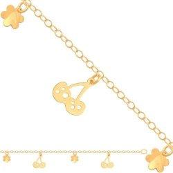 Bransoletka złota, damska 585 - 29263