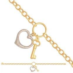 Bransoletka złota, damska 585 - 29559