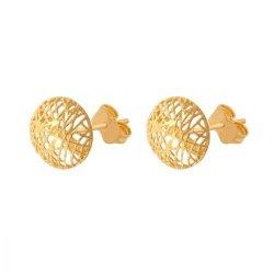 Kolczyki złote 585 sztyft - 34906