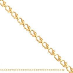 Bransoletka złota, damska 585 - 37495