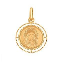 Medalik złoty 585 - 37911