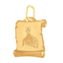Zawieszka złota 585 znak zodiaku Panna - Zopan