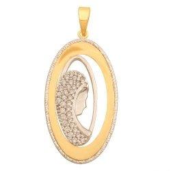 Medalik złoty 585 - 43197