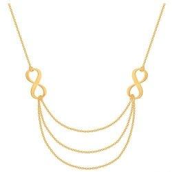 Celebrytka, naszyjnik, łańcuszek ze złota 585 - 43777