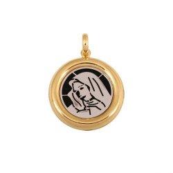 Medalik złoty 585 - 44885
