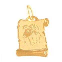 Zawieszka złota 585 znak zodiaku Baran- Zobar