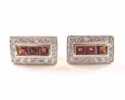Kolczyki złote 585 na klapkę, zatrzaskowe - ARTES-Kolczyki złote  521 PR. 585
