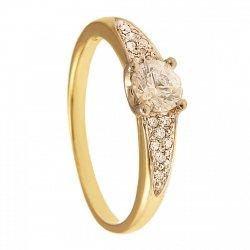 ARTES-pierścionek złoty zaręczynowy 665/375