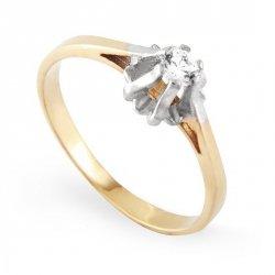 ARTES-Pierścionek złoty zaręczynowy A-91/37585