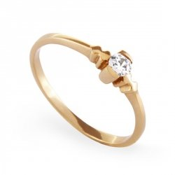 ARTES-Pierścionek złoty zaręczynowy A-57/375