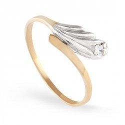 ARTES-Pierścionek złoty zaręczynowy A-97/375