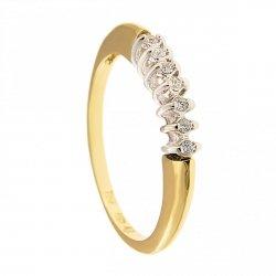 ARTES-Pierścionek złoty zaręczynowy BC-108 PR. 375