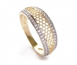 ARTES-Pierścionek złoty 635 PR. 585