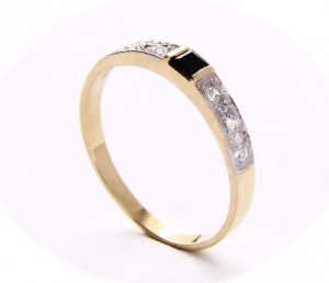 ARTES-Pierścionek złoty 377 PR. 585