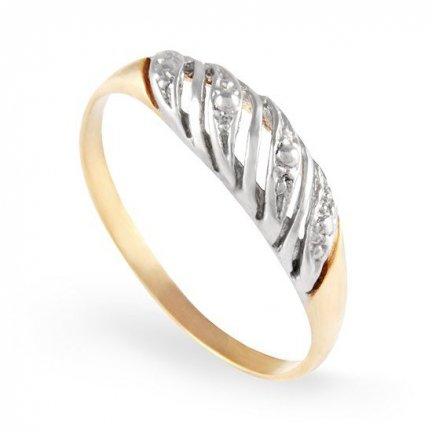 ARTES-Pierścionek złoty A-100 PR. 585